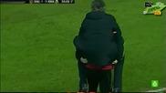 Жозе Моуриньо скача на гърба на Хосе Кайехон от щастие !!!