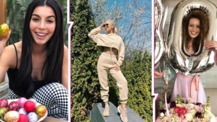 Цветница, рожден ден или... Великден? Как популярните лица на България посрещнаха празника