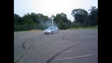 Golf 4 - Drifting