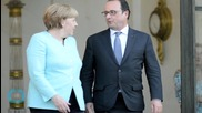 Germany, France Leaders Discuss Minsk Agreement