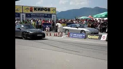 Porsche Techart vs Nissan 200sx