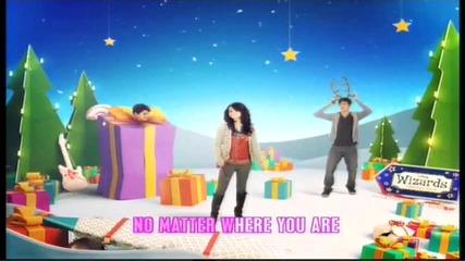 Превод !!! Disney Channel Christmas Ident 2009 - Lyrics Hilda Stenmalm - A little Magic