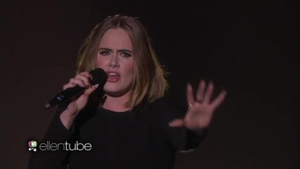 Adele - All I Ask(live on Ellen 18.02.2016)
