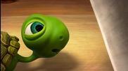 Костенурка срещу готвач - Анимация