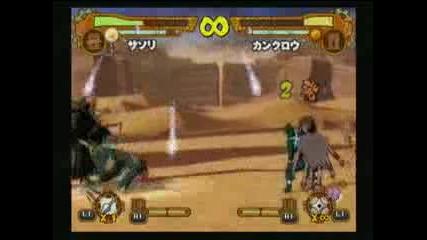 Naruto Shippuden Accel 2 Sasori Deidara vs Kankuro Temari