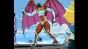 bakugan preyas - angelo y diablo evolucion audio latino