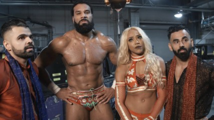 Jinder Mahal & Alicia Fox discuss their plans for Royal Rumble 2019: WWE.com Exclusive, Dec. 16, 2018