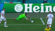 Швеция - Словакия 0:0 /първо полувреме/