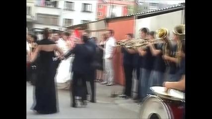 Духова музика Vivo Монтана - Извеждане на булката + хоро