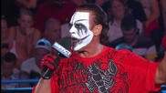 Sting Attacked While Addressing the Impact Wrestling Zone