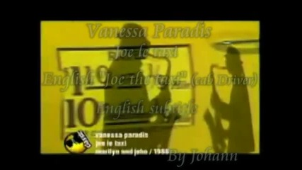 Vanessa Paradis Joe le taxi with English subtitle