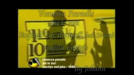 Vanessa Paradis Joe le taxi with English subtitle