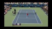 Federer vs. Robredo Us Open 2009