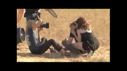 Twilight cast photo shoot with Robert Pattinson