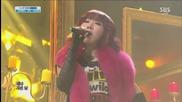 131208 2ne1 - Missing You & No.1 & Ending @ Inkigayo
