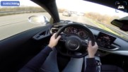Bmw M6 vs Audi Rs7 _ Acceleration Sound Pov _ Gran Coupe vs Sportback