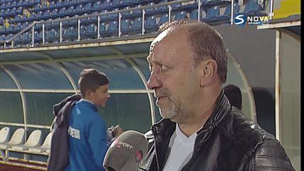 Николай Демирев: Верея ще довърши сезона с наличните играчи