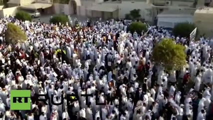 Saudi Arabia: 700,000 attend funeral for al-Anoud Mosque attack victims