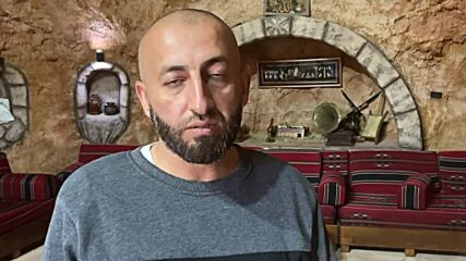 Palestinian man turns West Bank cave into cultural resort in face of settler 'harassment'