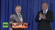 Russia: Putin gives start to new oil pipeline in Novorossiysk