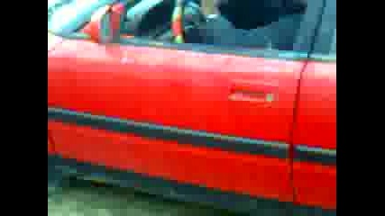 Test na Mazda 323f