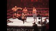 Santino сам се хвърля от ринга на 15 Man Battle Royale през 2009