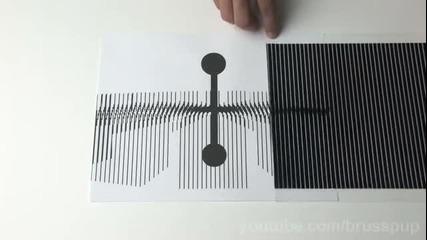 Невероятни анимационни Оптични илюзии