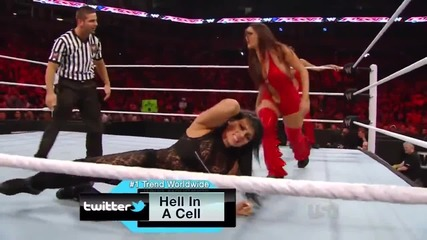 Wwe Raw 02-20-12 Kelly Kelly Aksana vs The Bella Twins