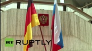 Germany: Berliners don St George's ribbons ahead of V-Day