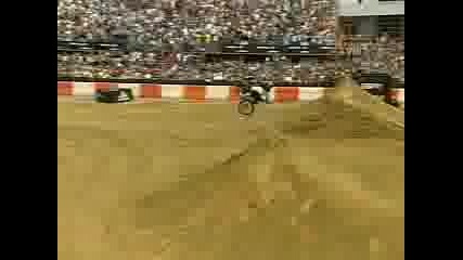 Mike Metzger Moto X Double Back Flip Combo