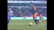 """С късен гол """"Валенсия"""" победи """"Депортиво"""" с 3:2"""