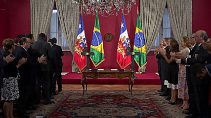 Chile: Bolsonaro meets host Pinera on state visit
