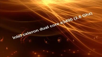 intel celeron dual core e3400 gaming