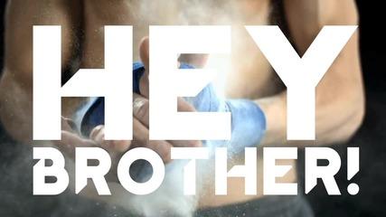 Avicii - Hey Brother ( Lyric ) + Превод