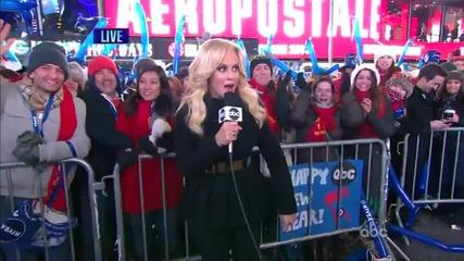 Gangnam Style взриви и Таймс Скуеър ( Ню Йорк) Live 31.12.2012