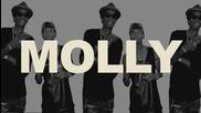 Велики!! Wiz Khalifa ft. Tyga & Mally Mall - Molly + Тескт и Превод!!