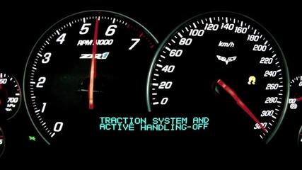 Corvette Zr1 0-330 km/h