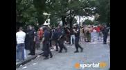 Кадри: Бой И Кръв На Митинга На Цска.справедливост за Цска