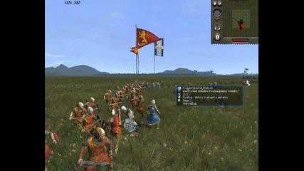 Medieval 2 Online Battle #1 France Vs England