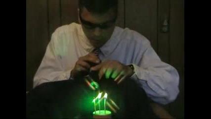 Как Да Си Направим Мощен Лазер #2
