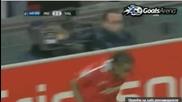 Рууни нашамарва Андерсон за гола срещу Валенсия /смях/