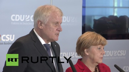 Germany: Merkel's Christian Democrats announce agreement on refugee response