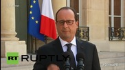 France: Hollande speaks out on factory attack, says beheaded man was found with message