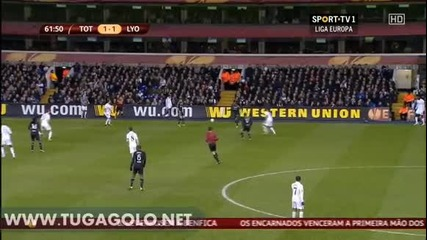 Тотнъм - Олимпик Лион 2:1 ( Лига Европа, 1/16 финал (15-02-2013)