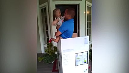Когато татко се прибере вкъщи