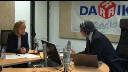 """Йорданка Фандъкова в """"Годината"""" на Дарик радио"""