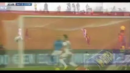 Удивителен контрол на топката от страна на Xavi