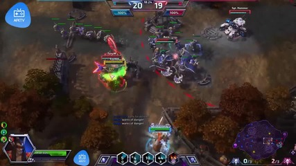 Heroes of the Storm: Illidan Gameplay от Sarconick