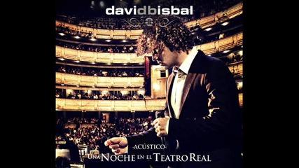 """David Bisbal - Una noche el teatro Real """"ave Maria"""""""