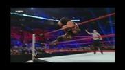 Wwe Vengeance - Mark Henry Vs. Big Show - Рингът се срути